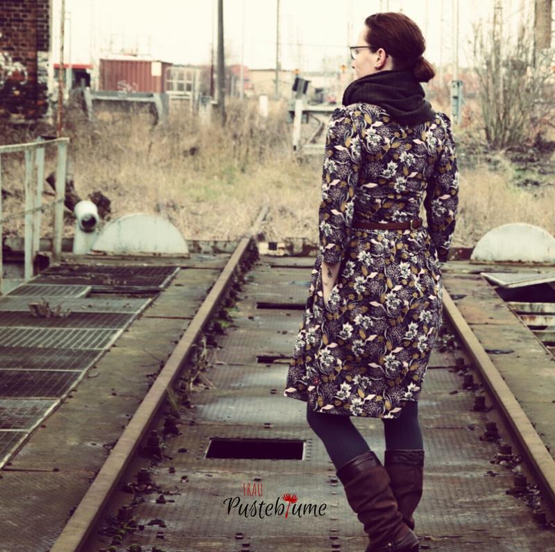 Kleiderliebe-Jojolino, Herbstblumen-Apfelschick