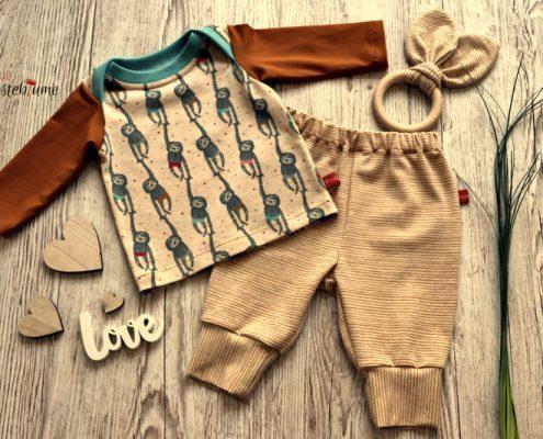 Babyshirt-Lybstes, Babyhose-Ottobre