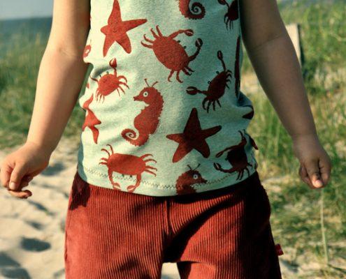 Immergrün-Firlefanz, Taschenklappenhose-Frlein.Faden
